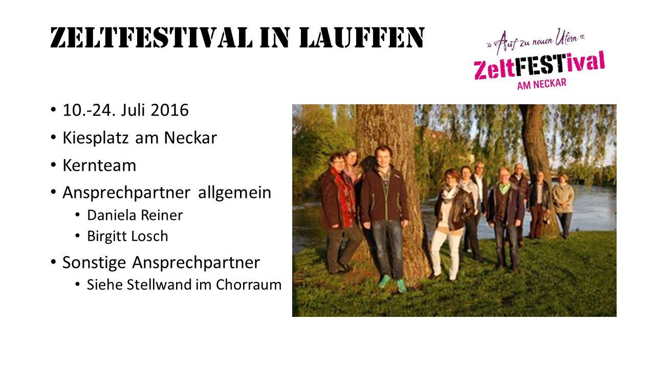 ZeltFESTival in Lauffen 10.-24.
