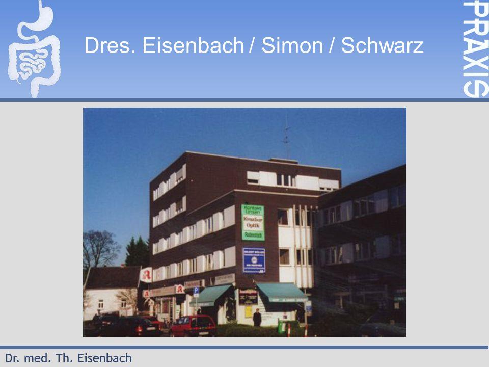 Dr.med. Th. Eisenbach 2 Endoskop-Kosten 2003/2004/2005 Dres.