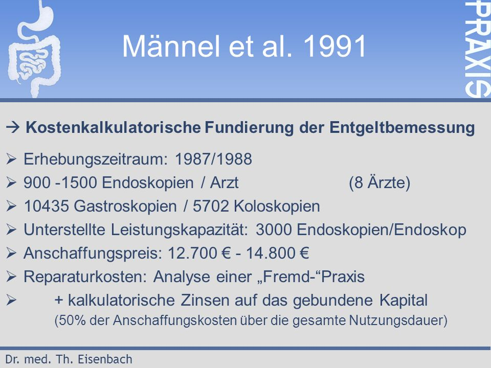 Dr. med. Th. Eisenbach Männel et al.