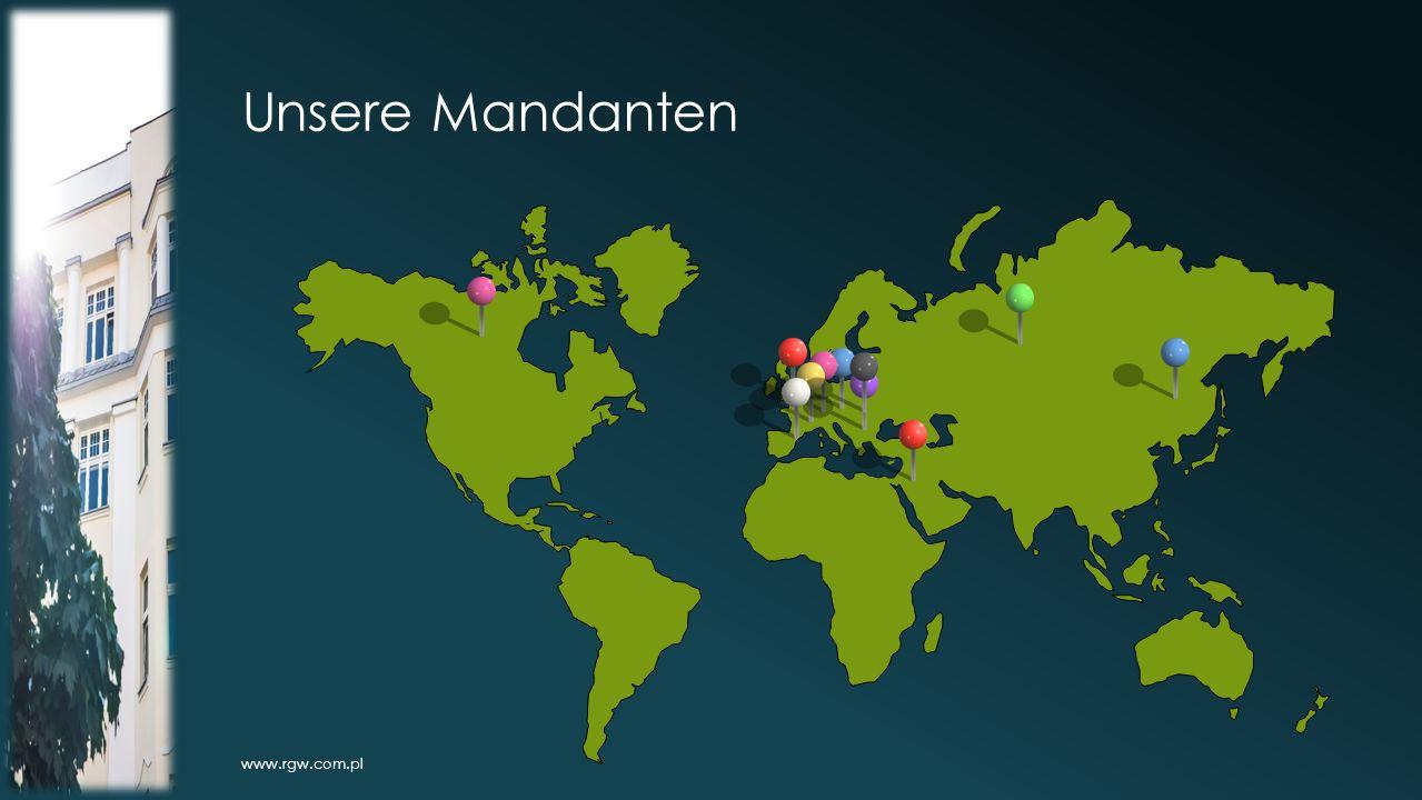 Unsere Mandanten www.rgw.com.pl