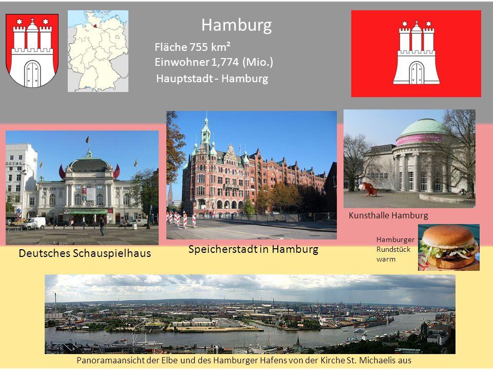 Bremen Fläche 404 km² Einwohner 0,662 (Mio.) Hauptstadt - Bremen Bremen-rathaus-dom-buergerschaft Bremer Stadtmusikanten Bremen Schnoor Old Town Knipp Universum Bremen