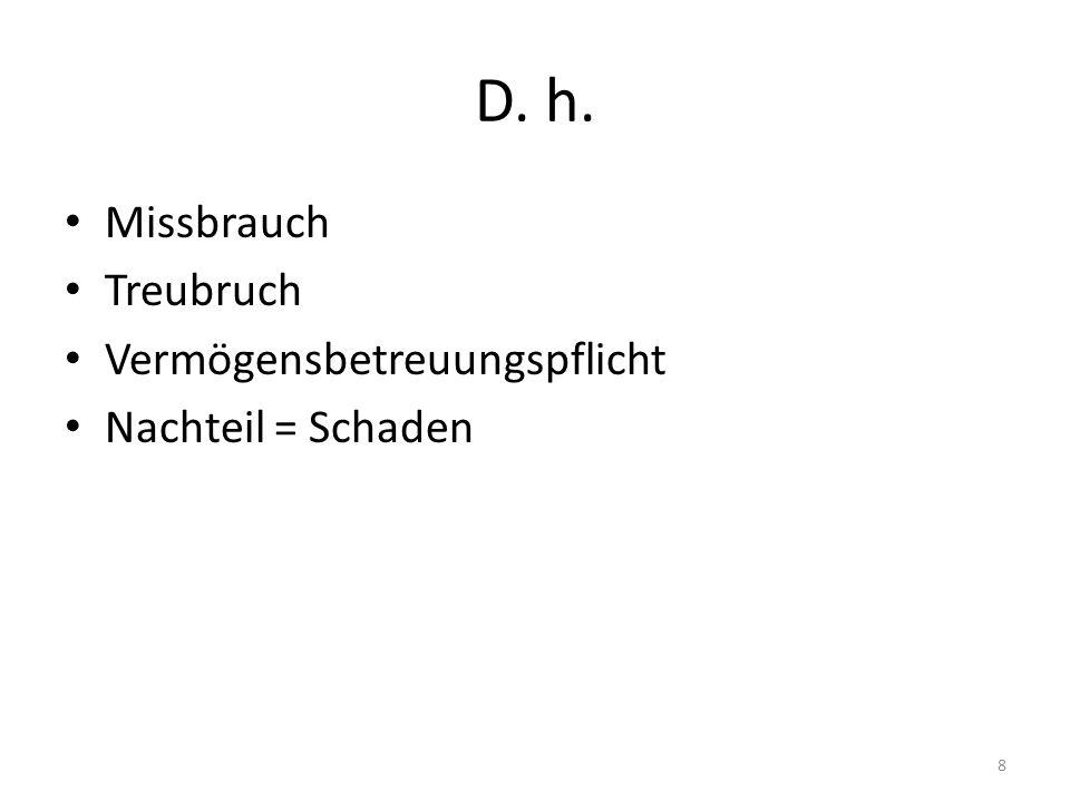 17.12.: Entscheid BVerfG Untreue Entscheidungen 9