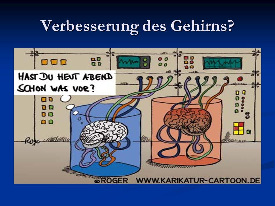 Verbesserung des Gehirns