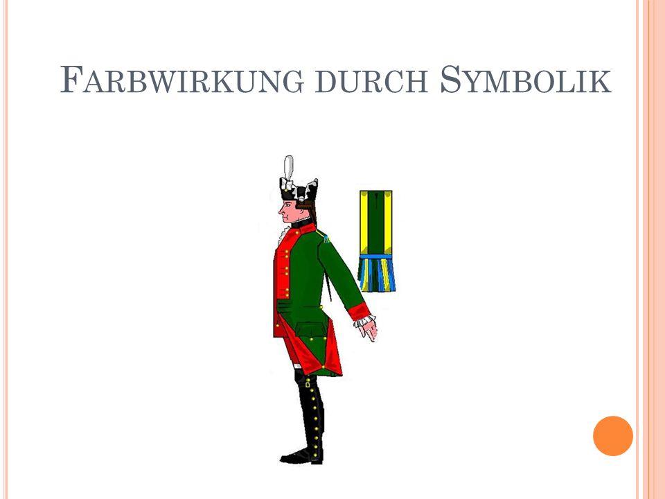F ARBWIRKUNG DURCH S YMBOLIK