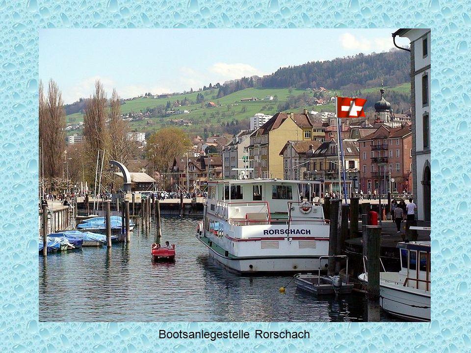 Rorschacher Hafen (Schweiz) mit Kornhaus