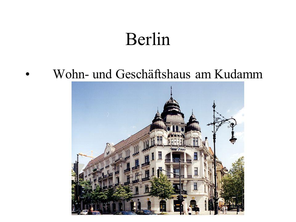 Berlin Wohn- und Geschäftshaus am Kudamm