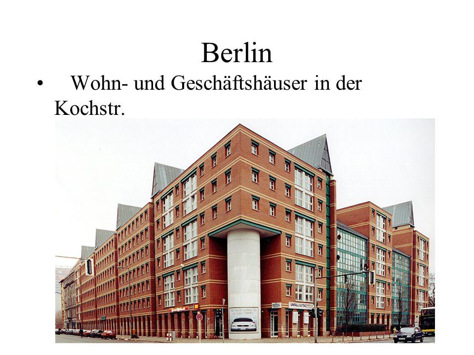 Berlin Wohn- und Geschäftshäuser in der Kochstr.
