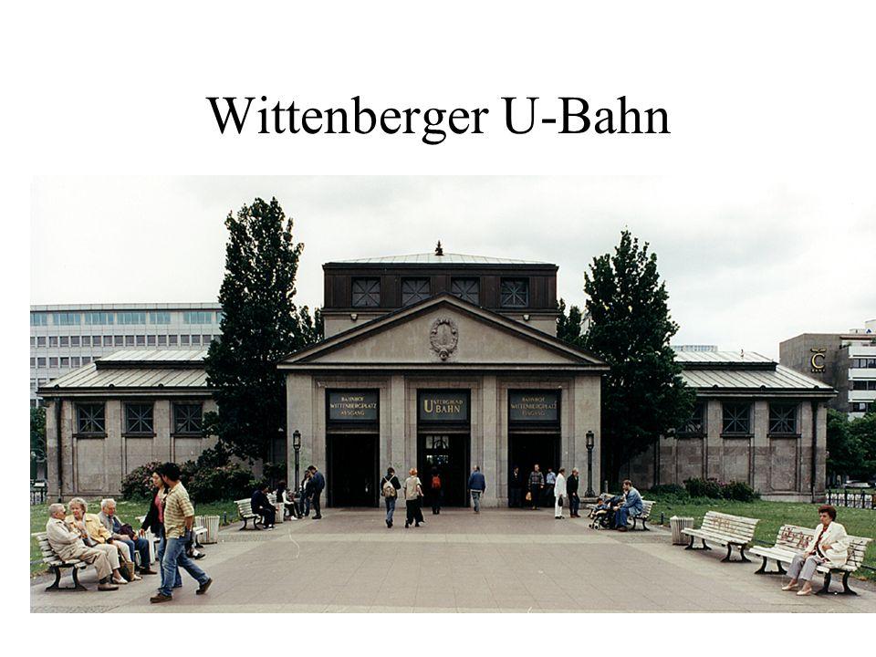 Wittenberger U-Bahn