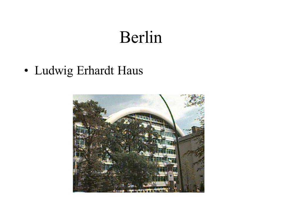 Berlin Ludwig Erhardt Haus