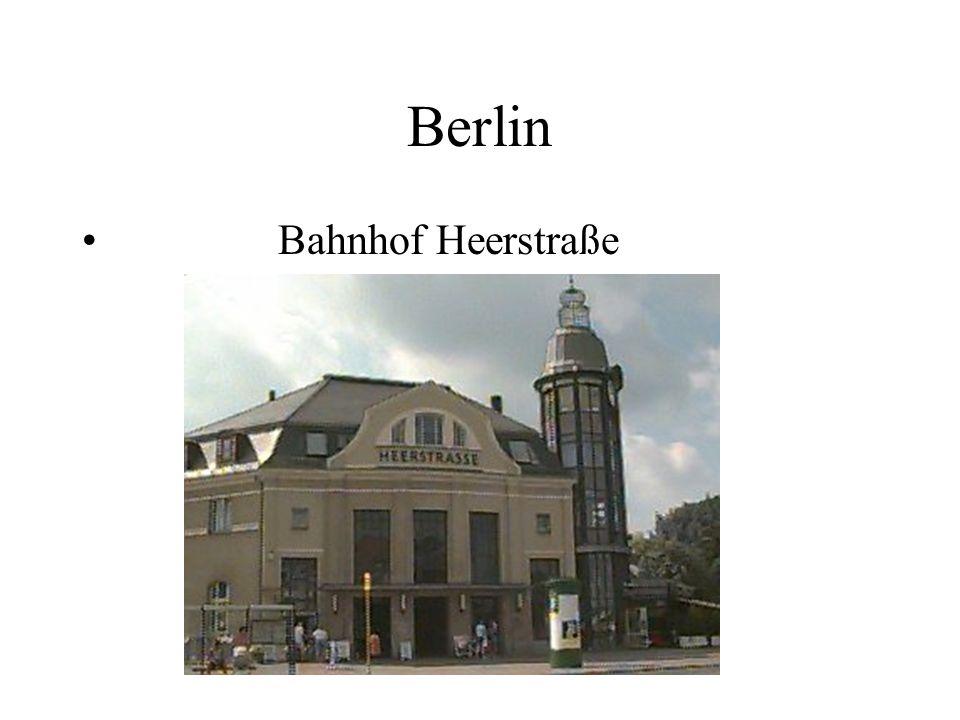 Berlin Bahnhof Heerstraße