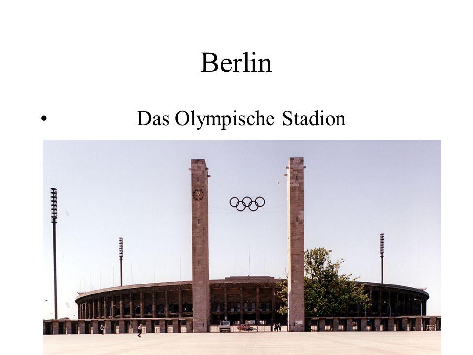 Berlin Das Olympische Stadion