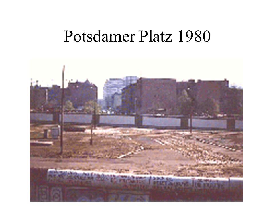 Potsdamer Platz 1980