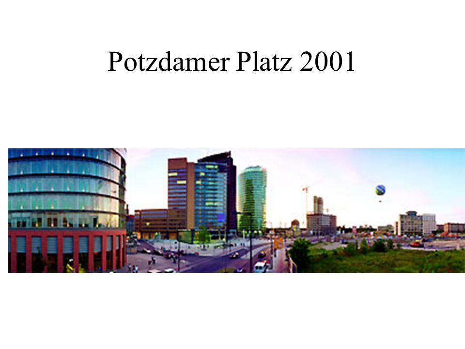 Potzdamer Platz 2001