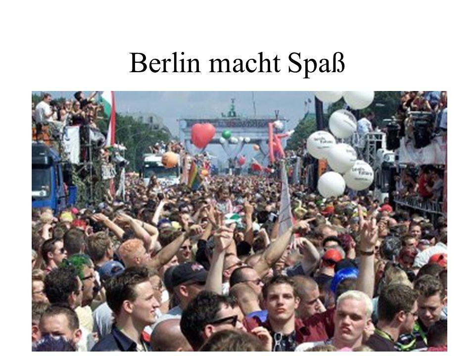 Berlin macht Spaß