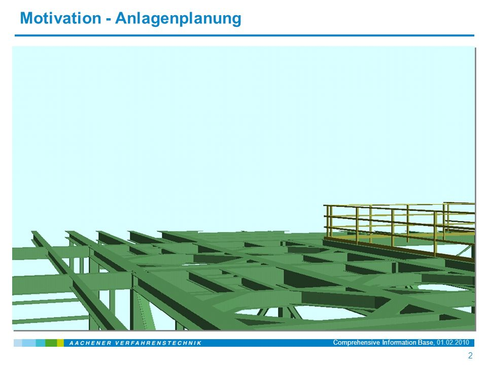 Name der Präsentation, 20.03.2008 13 13 Comprehensive Information Base, 01.02.2010 Semantische Datenintegration – 1.