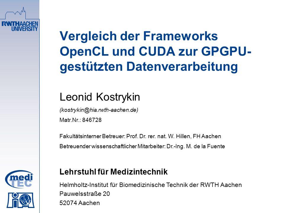 Überblick  Einleitung  Technischer Hintergrund oGrafikprozessor-Besonderheiten oGPGPU-Grundlagen  CUDA und OpenCL oKonzeptionelle Ebene oProgrammiermodelle  Fazit und Ausblick