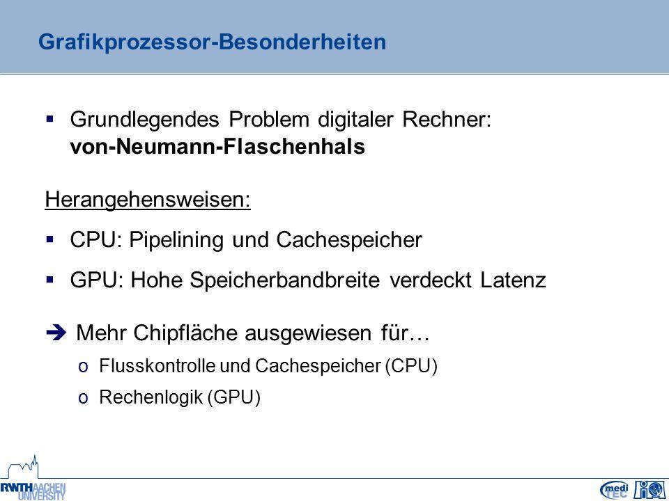 Problem-Eignung zur GPGPU-Beschleunigung