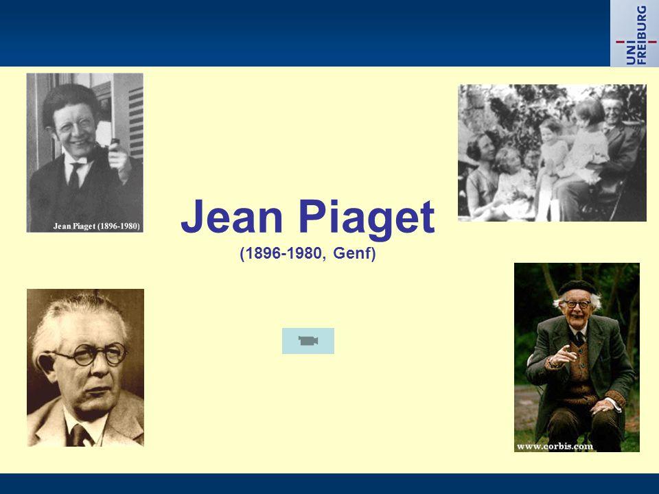 Jean Piaget (1896-1980, Genf)
