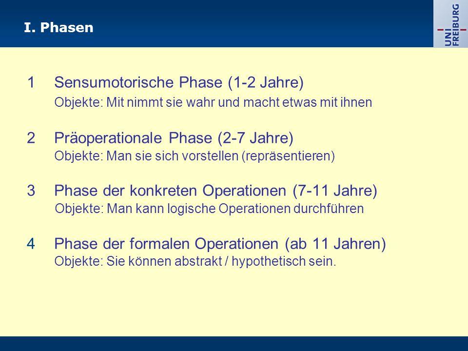Phasentheorie: Grundlegendes Strukturalistische Annahmen Universell Obligatorisch Jedoch unterschiedliches Entwicklungstempo möglich