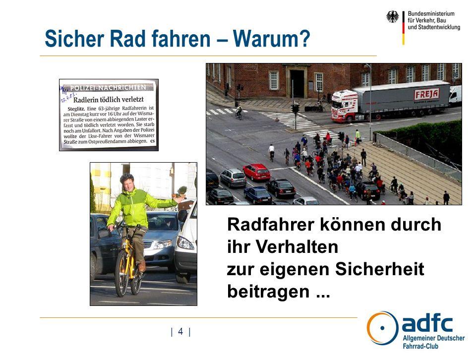| 4 | Sicher Rad fahren – Warum.
