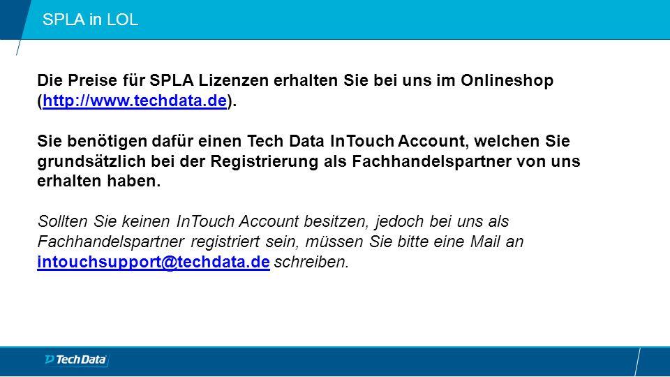"""SPLA Bestellung in LOL Auf der Hauptseite unseres Onlineshops finden Sie ganz unten eine Kachel mit der Aufschrift """"KONFIGURATOR – Lizenz Programme auf den Sie klicken müssen."""