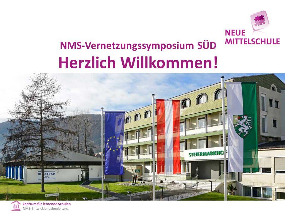 NMS-Vernetzungssymposium MITTE Herzlich Willkommen!