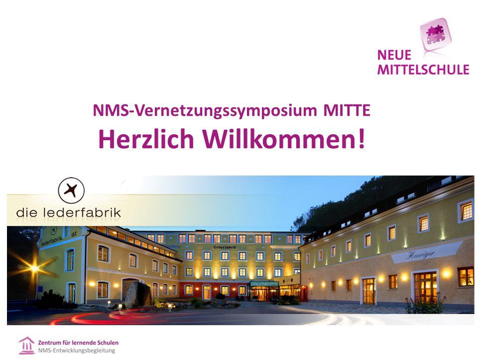 NMS-Vernetzungssymposium WEST Herzlich Willkommen!