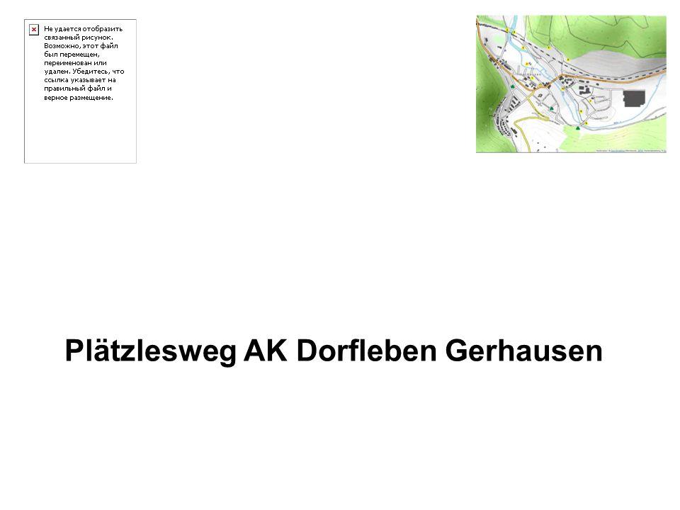 Plätzlesweg AK Dorfleben Gerhausen