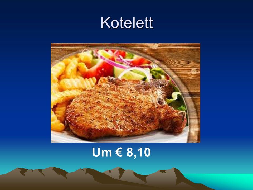Kotelett Um € 8,10