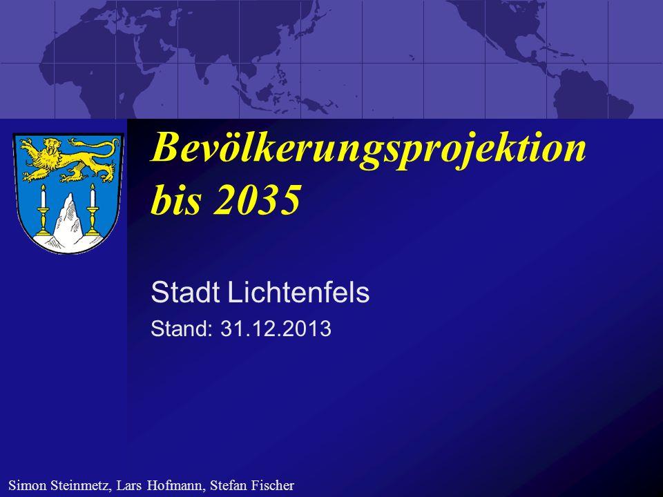 Bevölkerungsstatistik 2012