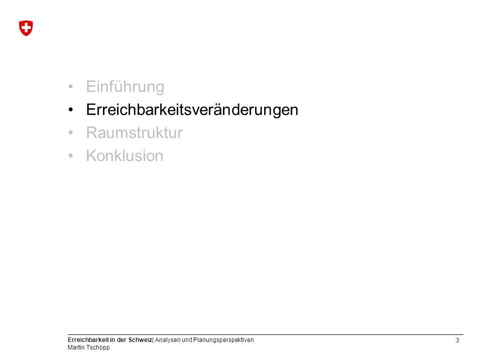 14 Erreichbarkeit in der Schweiz| Analysen und Planungsperspektiven Martin Tschopp Isochronen: MIV ex Scuol 2000
