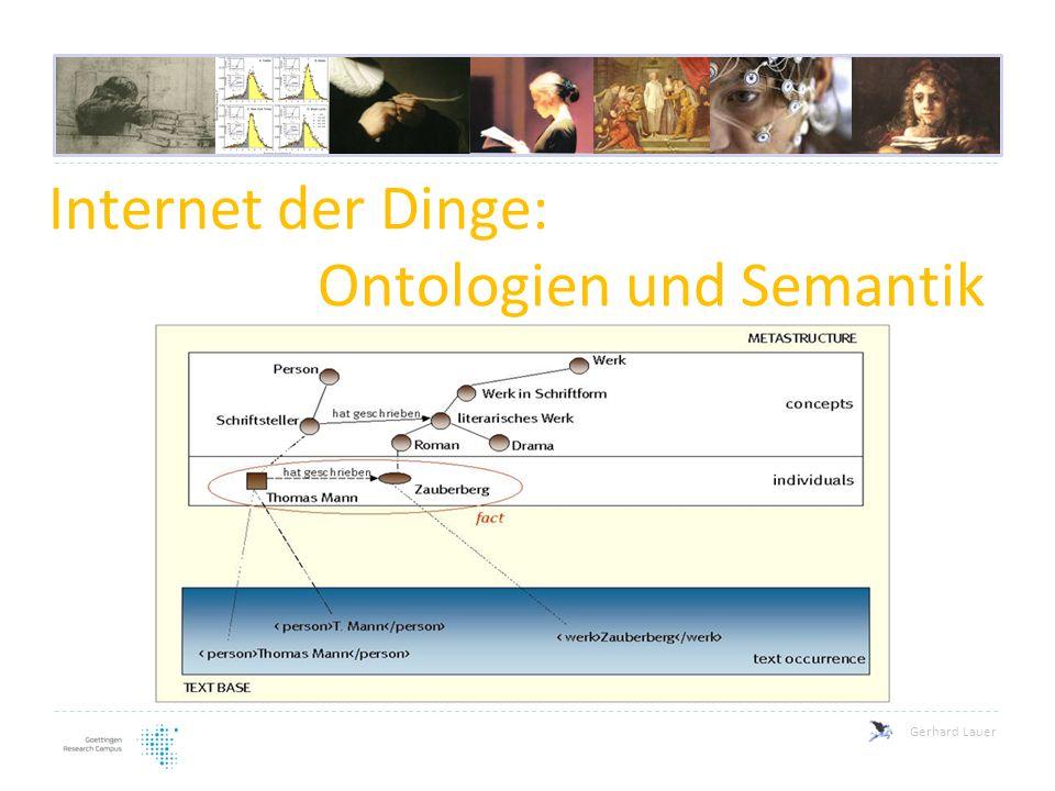 Internet der Dinge: Ontologien und Semantik