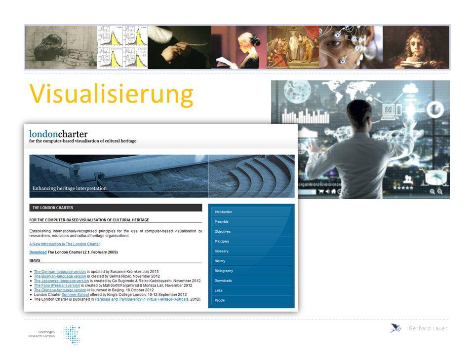 Gerhard Lauer Visualisierung