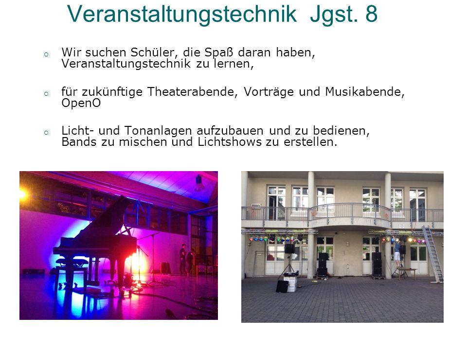 Veranstaltungstechnik Jgst.