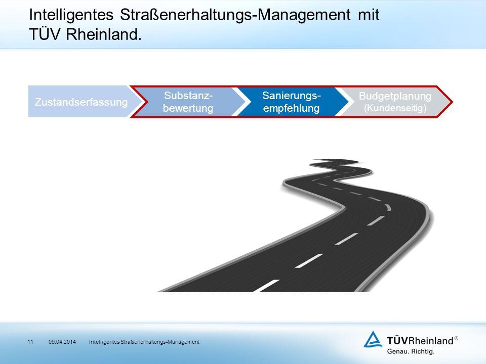 Intelligentes Straßenerhaltungs-Management mit TÜV Rheinland.