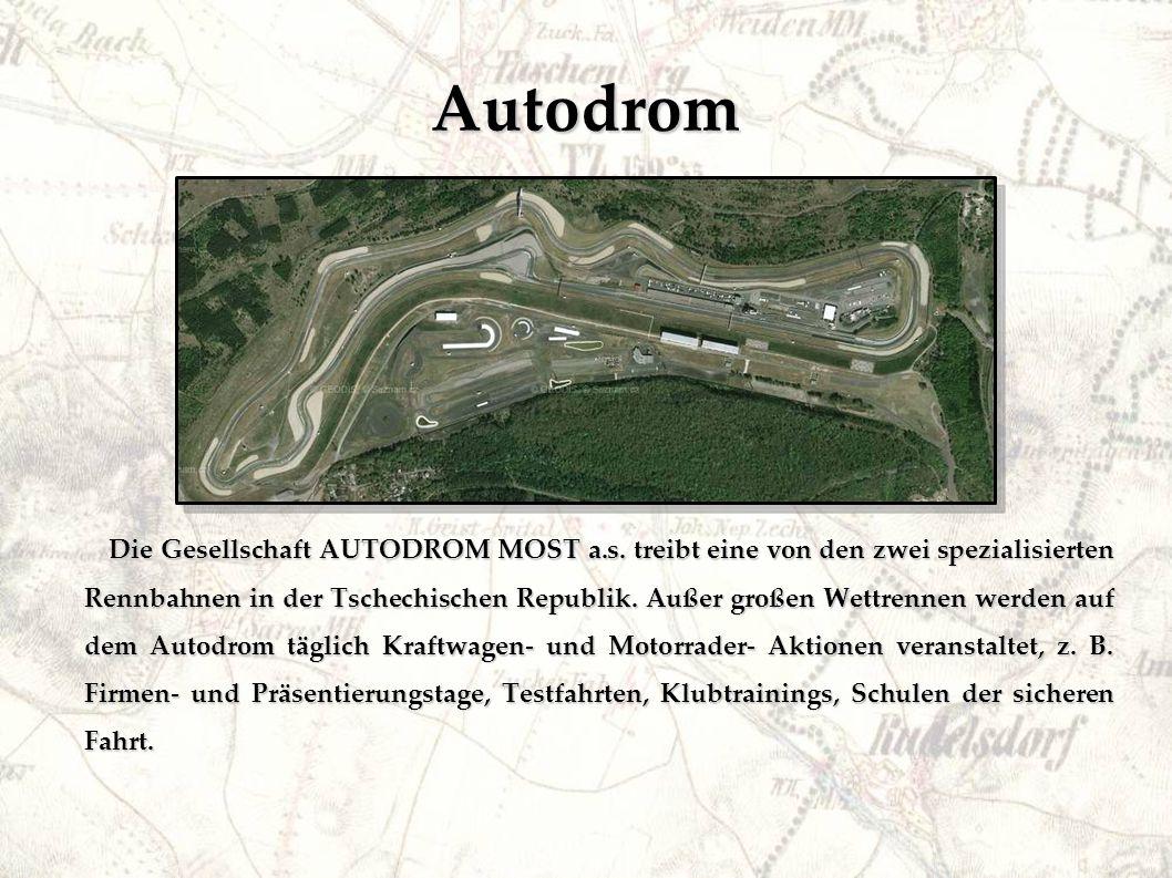 Autodrom Die Gesellschaft AUTODROM MOST a.s.