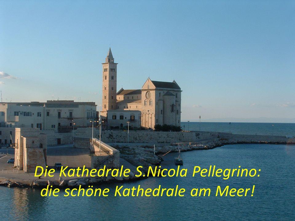 Die Kathedrale S.Nicola Pellegrino: die schöne Kathedrale am Meer!