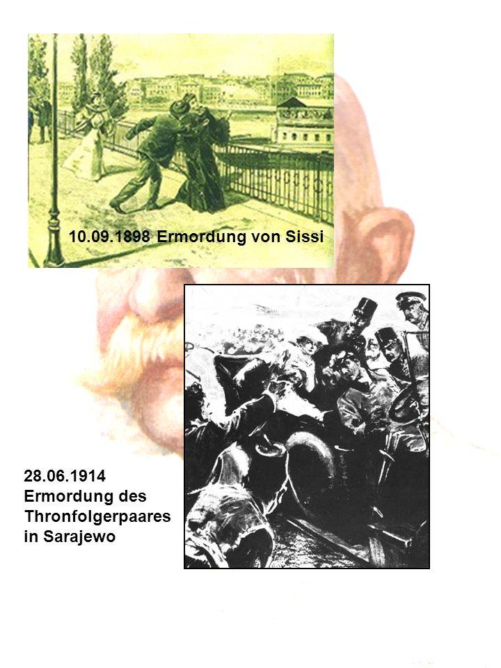 """""""Es war sehr schön, es hat mich sehr gefreut! 21.11.1916 Franz Joseph stirbt in Wien an einer Lungenentzündung"""