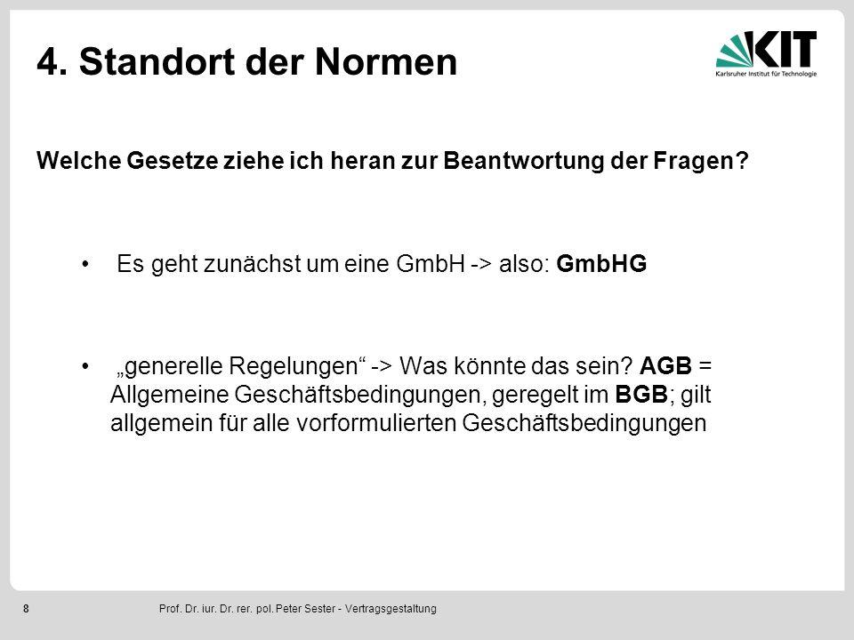 9 5.Lösung Fragen 1 bis 3: Möglichkeit, als Einzelperson eine GmbH zu gründen.