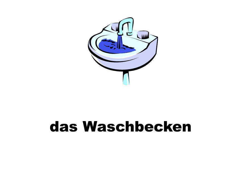 das Waschbecken