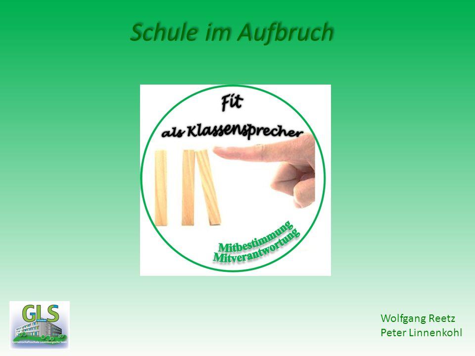 Schule im Aufbruch Wolfgang Reetz Peter Linnenkohl
