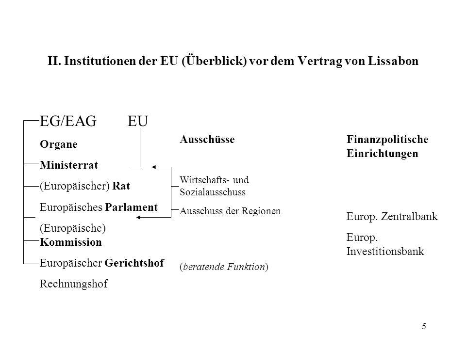 """4 Einfluss des europäischen Gemeinschaftsrechts Das """"Europäische Haus vor dem Vertrag von Lissabon Europäische Union Europäische GemeinschaftenGemeins."""