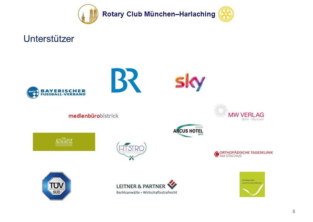 Rotary Club München–Harlaching Unterstützer medienbürobistrick 8