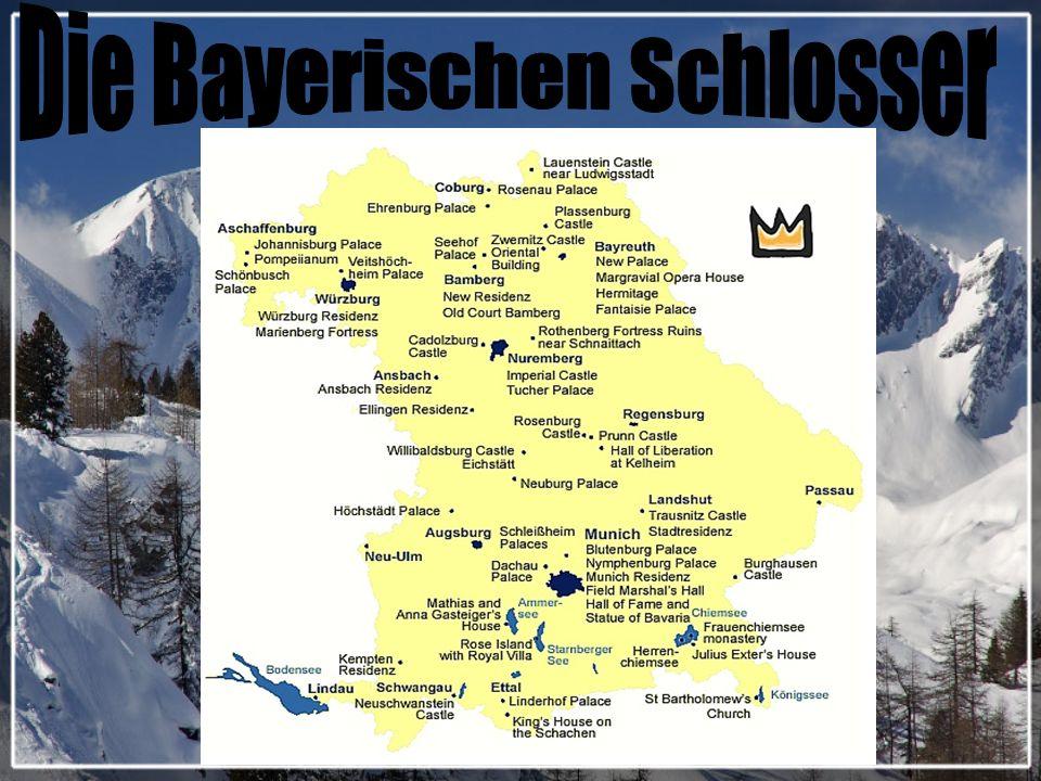 Auf dem Territorium der BRD gift es viele Burgen und Schlosser.