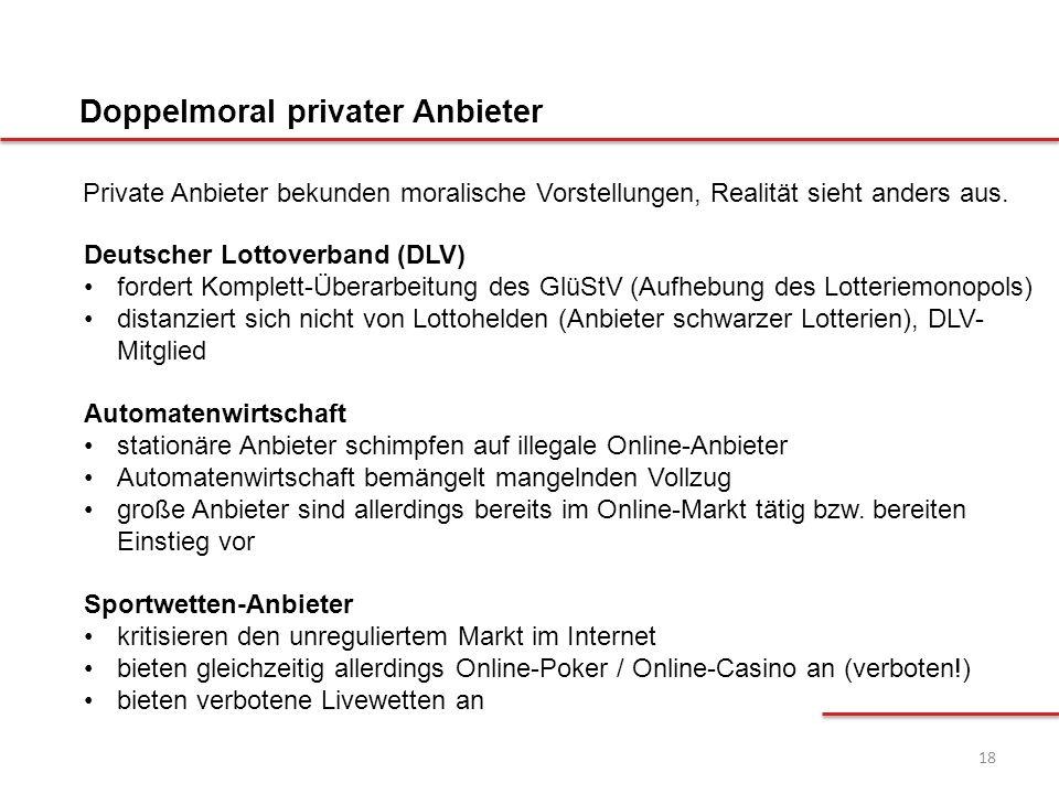 18 Deutscher Lottoverband (DLV) fordert Komplett-Überarbeitung des GlüStV (Aufhebung des Lotteriemonopols) distanziert sich nicht von Lottohelden (Anb