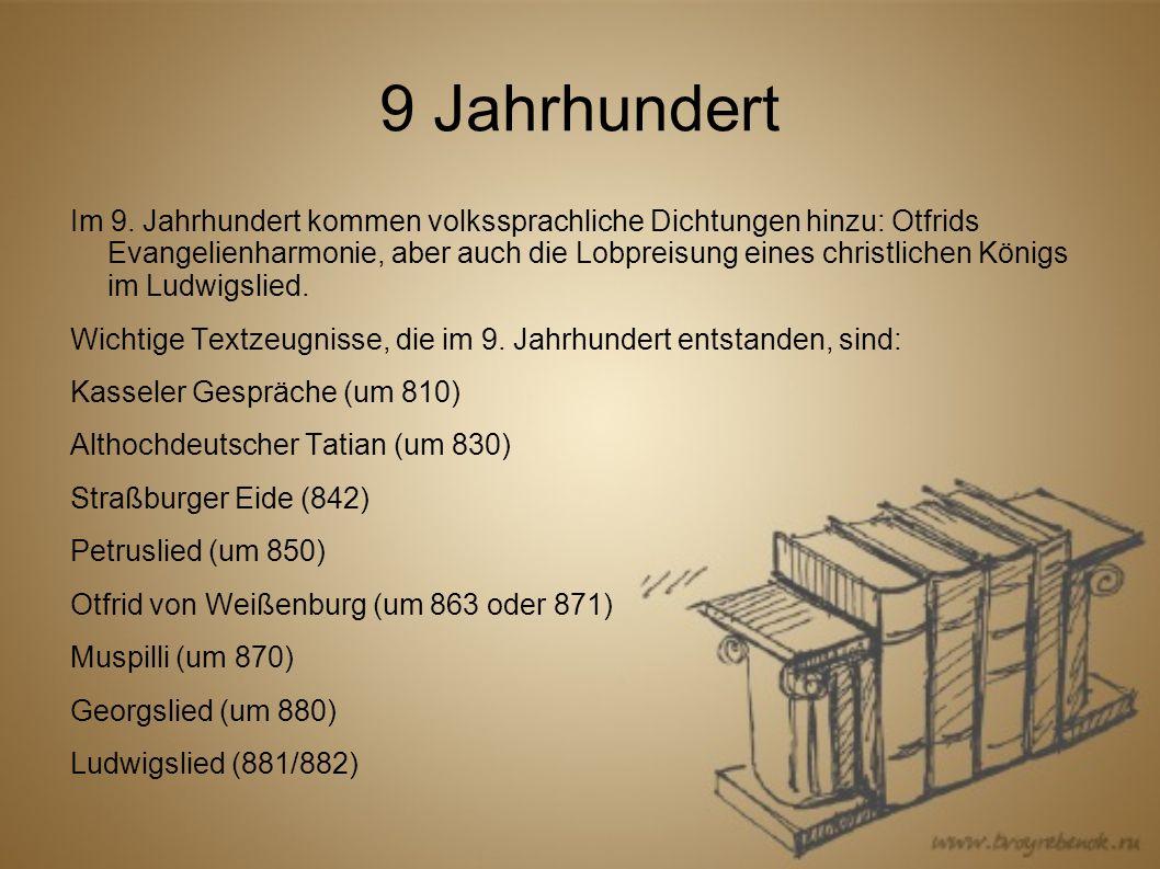 9 Jahrhundert Im 9.