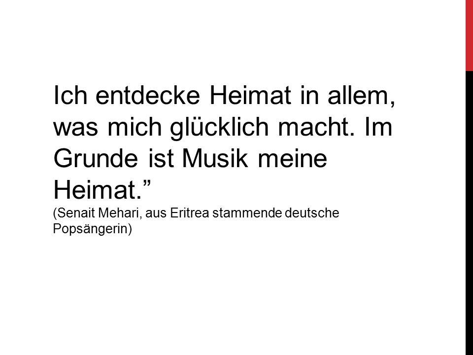 Herbert Grönemeyer Heimat ist kein Ort, Heimat ist ein Gefühl!