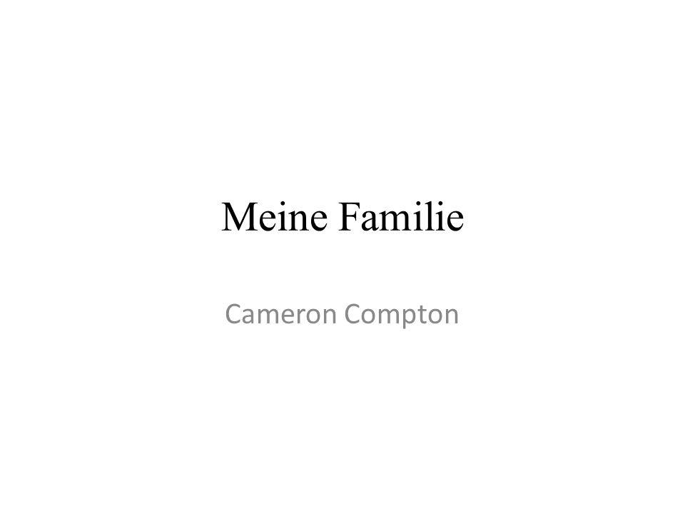 Meine Familie Cameron Compton