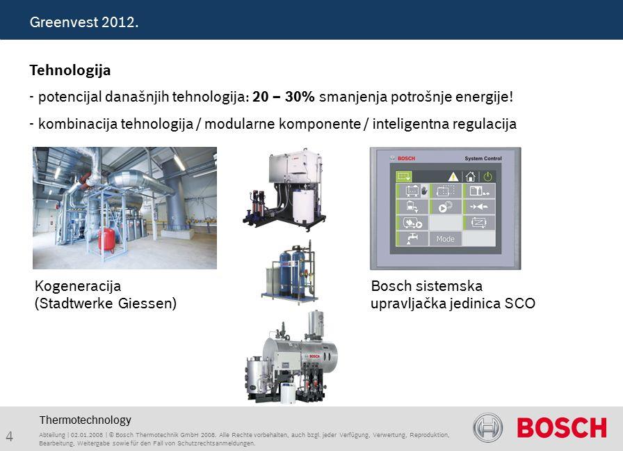 35 Abteilung | 02.01.2008 | © Bosch Thermotechnik GmbH 2008.
