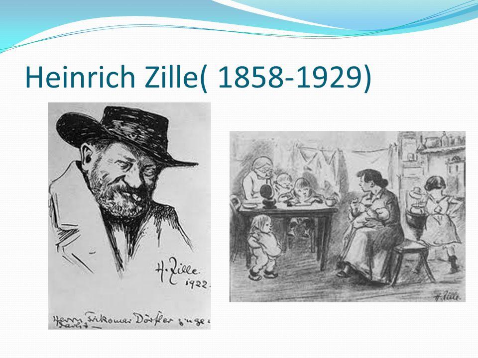 Heinrich Zille( 1858-1929)
